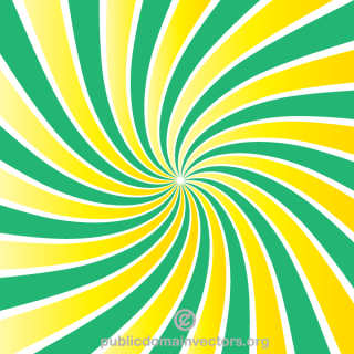 Free Retro Sunburst Background Design