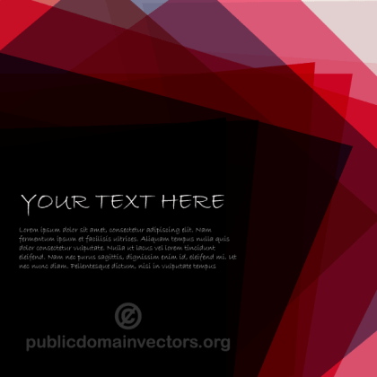 Abstract Vector Background with Your Text