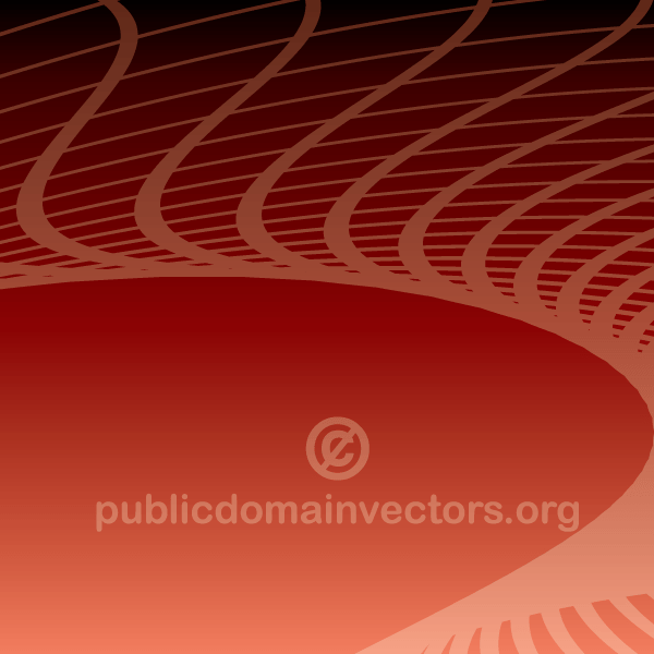 Vector Abstract Background with Flowing Lines