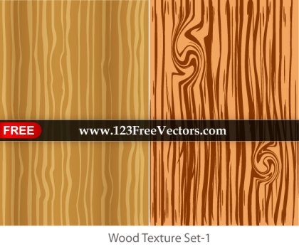 Wood Texture Vector Illustrator