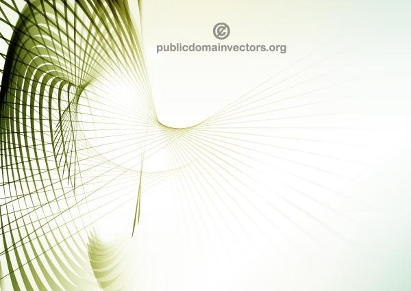 Vector Abstract Green Lines Background Image