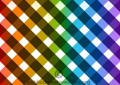 Checked Pattern Background Vector Graphics