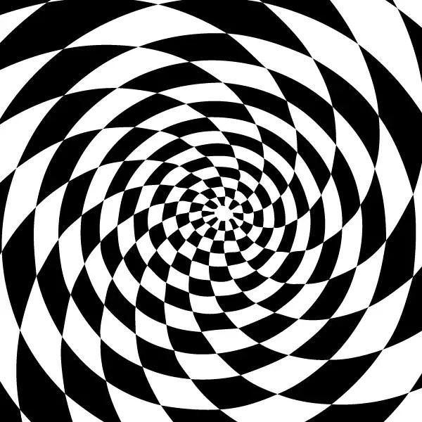 Optical Illusion Background Vector Illustrator