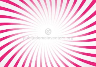 Pink Radial Stripes Illustrator Background