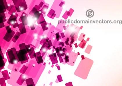 Pink Tiles Background Design