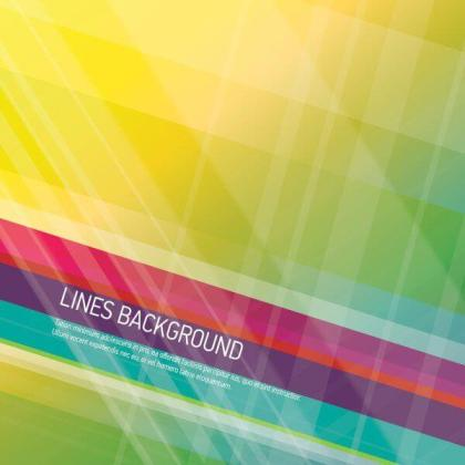 Lines Background Vector Design