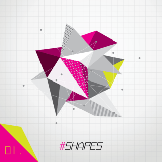 Shapes Vector Colorful Background Graphic