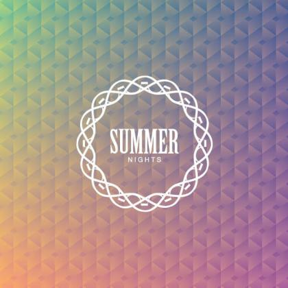 Summer Nights Background Design