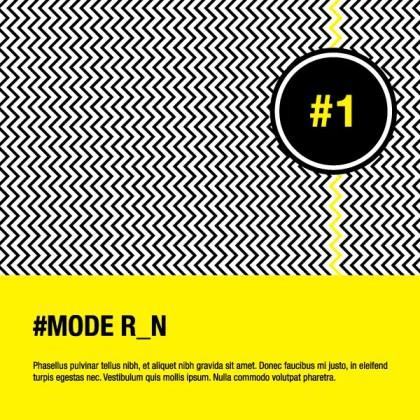 Modern Illustration Flyer Background