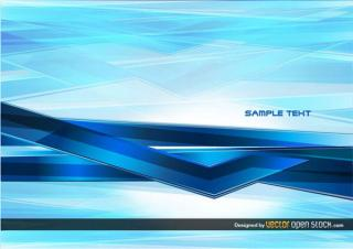 Abstract Technology Blue Background Image