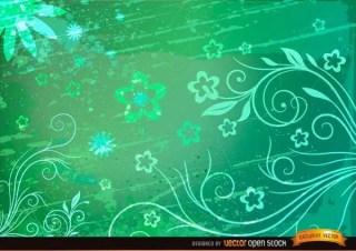 Floral Grunge Background Image