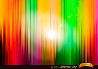 Vertical Abstract Stripes Colorful Background Illustrator
