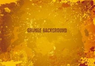 Yellow Grunge Background Illustration