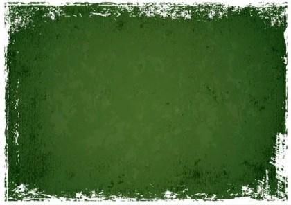 Green Grunge Texture Background Vector