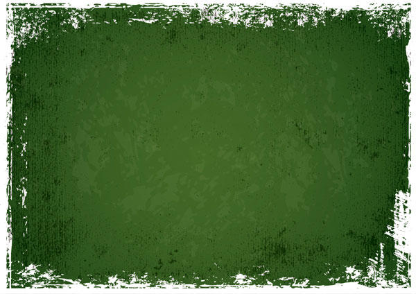Green Grunge Texture Background Vector