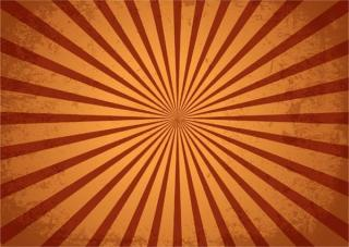 Vintage Grunge Sunburst Background Radial Design