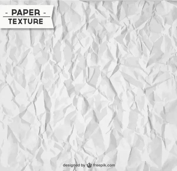 Wrinkled Paper Texture Illustrator