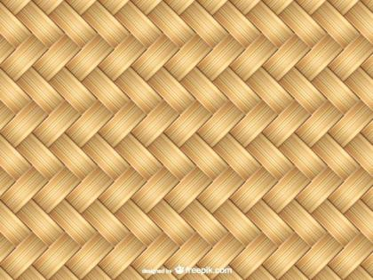 Braided Bamboo Texture Vector
