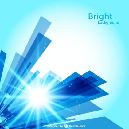 Abstract Blue geometric Shapes background Design Vector