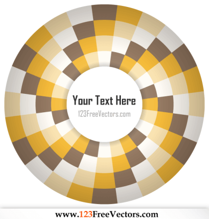 Op Art Illustration for Your Text
