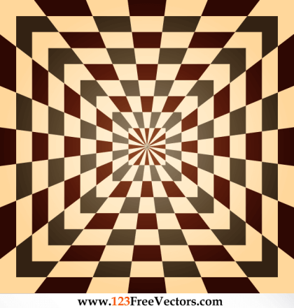 Optical Illusions Background Vector