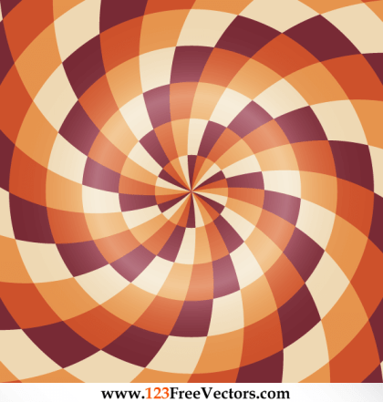 Abstract Colorful Optical Illusion Image