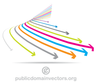 Colorful Arrows Graphics