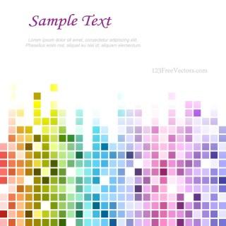 Rainbow Tile Background Designs
