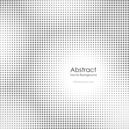 Grey Halftone Background Image