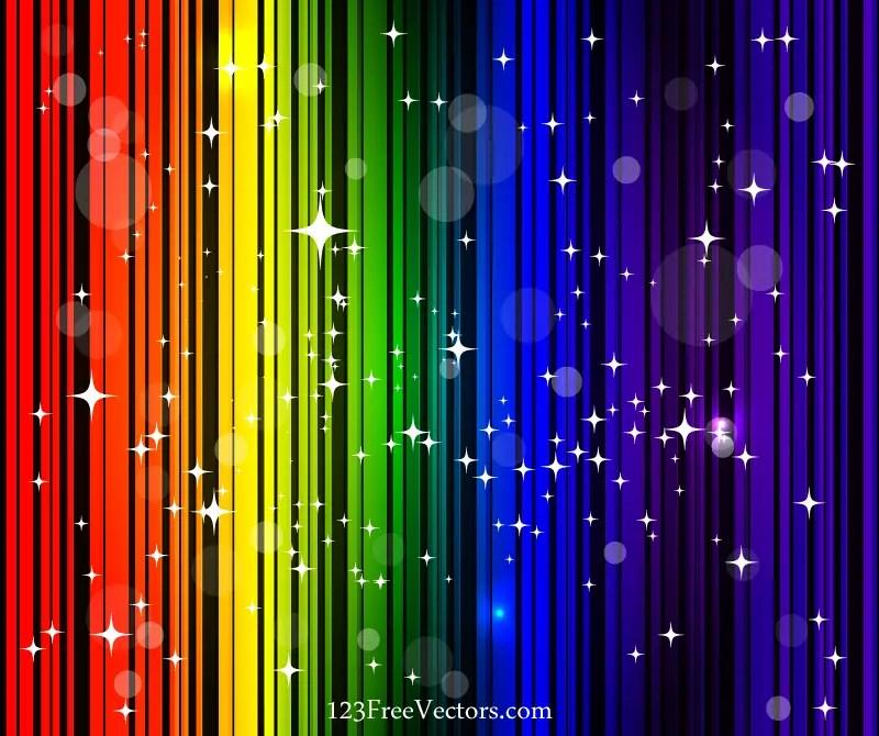 rainbow background vector free 123freevectors