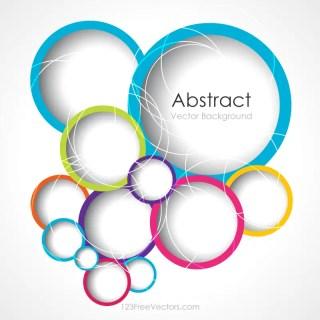 Circle Background Illustrator