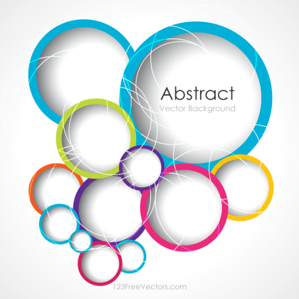 Circle Background Illustrator