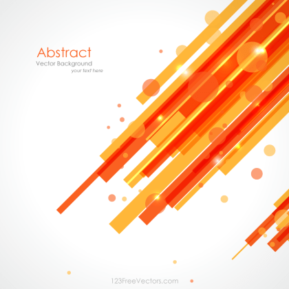 Orange Yellow Lines Background Vector