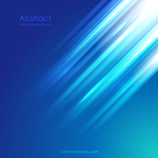 Blue Abstract Straight Lines Vector Background Illustrator