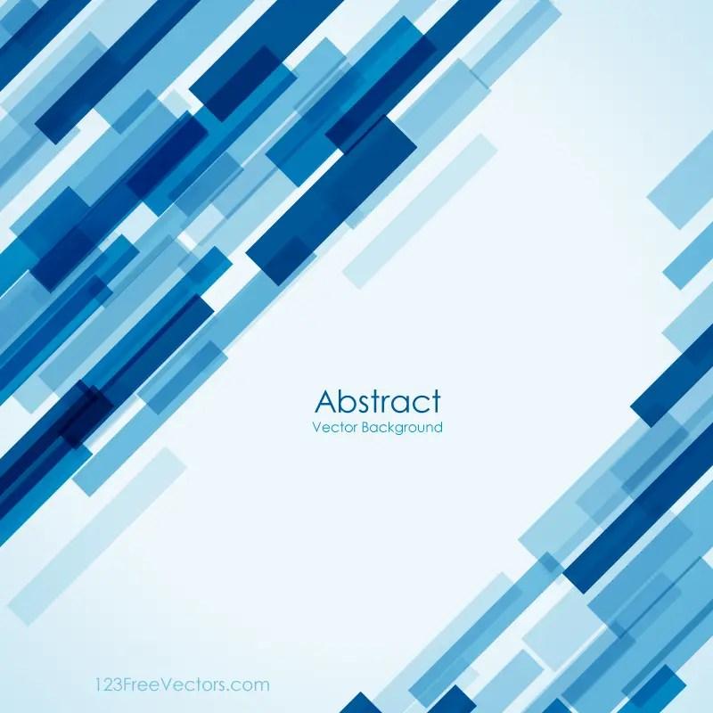Free Geometric Blue Background Image