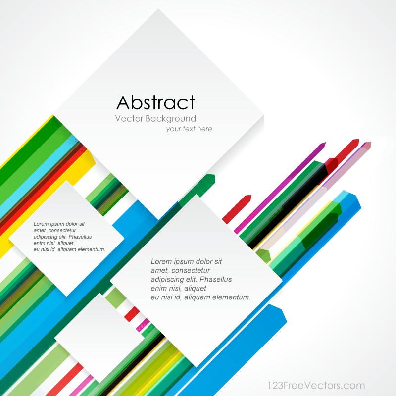 Geometric Straight Line Background Vector Template