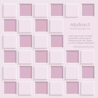 Paper Square Banner Background Template
