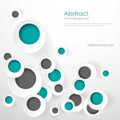 Geometric Circle Designs Background Graphics