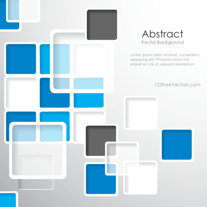 Modern Abstract Squares Background Design Template