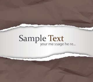 Ripped Paper Vector Free