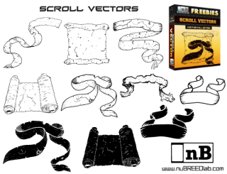 Free Scroll Vector Pack
