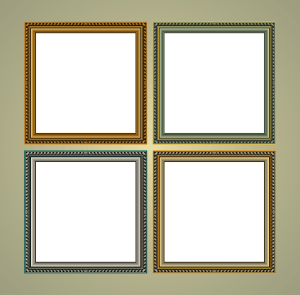 Free Classic Frames Vector Graphics
