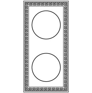 Free Greek Frame Vector