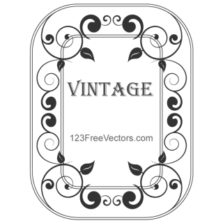 Decorative Vintage Frame Vector