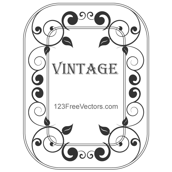 Decorative Vintage Frame Vector