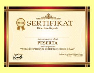 Certificate Border Template Illustrator