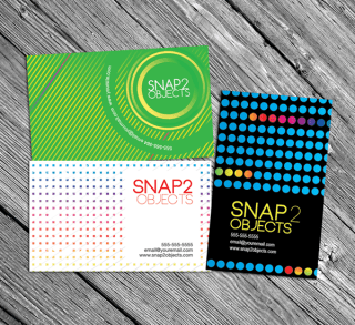 Colourful Vector Business Cards Templates
