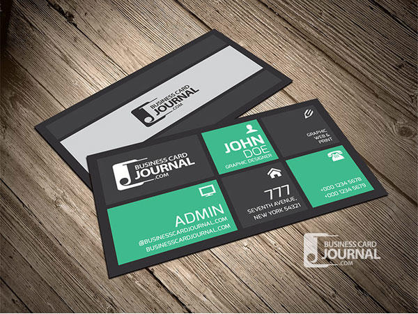Creative & Stylish Metro Business Card Template