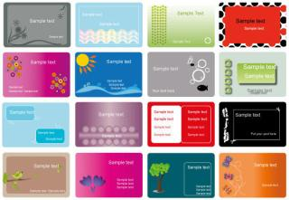Business Card Free Vector Set