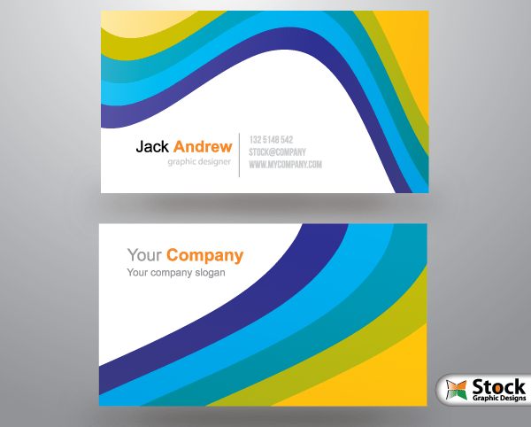 Free Corporate Business Card Templates 123freevectors